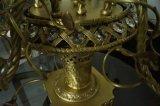 Lâmpada de tabela de bronze da decoração clássica elegante bonita da flor (MT0907-6)