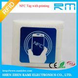etiqueta passiva da etiqueta de 13.56MHz ISO18092 Ntag 213 sem contato NFC