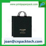 Carreg o saco de papel costurado de papel