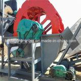 Tipo lavaggio della rotella e strumentazione della macchina della sabbia di pulizia