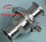 Válvula sanitária de retenção Nrv de aço inoxidável