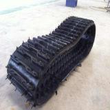Trilha de borracha Py-380 para o robô, mini máquinas 380*65*46