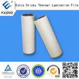 Sticky supplémentaire BOPP Thermal Laminating Film pour Advertizing Inject Prints (mat)