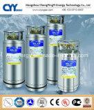Cilindro criogênico médico do vaso Dewar do CO2 do argônio do nitrogênio do oxigênio