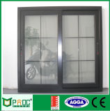 Conception en aluminium de gril d'armature Windows coulissant avec As2047 le certificat Pnoc0012slw