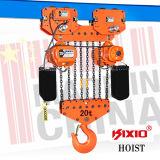Het Type van karretje het Elektrische Hijstoestel van Kito van 20 Ton met Ketting Fec80
