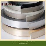Faixa de borda de PVC de grão de madeira de 1X22mm para móveis