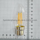 Lámpara de filamento del LED C35 4W E14