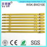 Do fornecedor plástico do selo de Guangzhou selo em linha do plástico da alta segurança do amarelo da compra