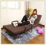 Spacespace Saving Folding Bed/Sofa Bed mit Coffee Color Mattress 190*100cm