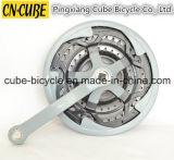 バイクのクランク軸の自転車のChainwheelのクランク