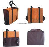 Изготовление OEM рекламируя складывая Nonwoven мешок Tote