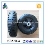 Roda a favor do meio ambiente da matéria- prima do poliuretano 2.50-4