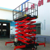 la strumentazione di sollevamento di 5m/funzionamento aereo automotore Scissor l'elevatore (CA)