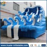 Скольжения PVC PVC 0.55mm гигантские взрослый раздувные, раздувная вода скольжения
