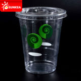 400 ml Plastic Smoothie Cups mit Lids 16oz
