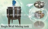réservoir de mélange d'acier inoxydable de réservoir de chauffage de vapeur 1000L