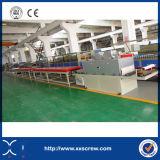 China-Lieferant Belüftung-Plastikvorstand-Doppelt-Schrauben-Strangpresßling