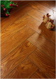 8.3mm Embossed Maple V-Grooved Waxed Edged Laminate Floor