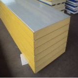 EPS/Rockwool/PU Foam Sandwich Wall Panel per Warehouse