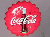 Tekens van Lit van de reclame slaan de Openlucht Sterke Correcte 3D Acryl Voor voor Roomijs Voorzijde op