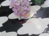 Мрамор вырезывания картины облака водоструйный сделал мозаику (CFW45)