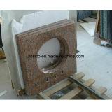 Partes superiores & bancadas pretas da vaidade do granito para o banheiro