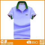 Camiseta colorida del polo de las mujeres