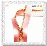 5# Metall Zipper Silk Tape Closed End für Fashion Wear