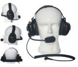 Acessórios de rádio em dois sentidos/ruído resistente que cancela auscultadores