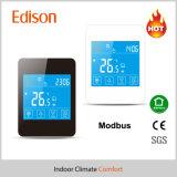 Термостат Modbus подпольного топления касания LCD