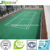 Oppervlakte van de Sport van het Badminton van de Bevloering van het Polyurethaan van het Certificaat van Itf de Rubber