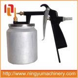injetor de pulverizador de alumínio do ar da pintura da sução do copo de pintura 400ml