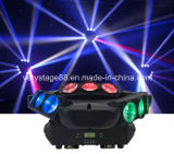 Adj Kaos 3 헤드 9PC 10W LED 거미 Sharpy 광속 이동하는 헤드