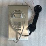 Pared-Montar el Ce resistente del teléfono Knzd-10 del vándalo del intercomunicador del microteléfono obediente