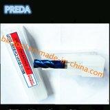 Fraises en bout enduites bleues de haute précision de HRC60 Chine
