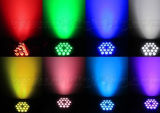 LED 동위 빛4 에서 1 직업적인 단계 LED 점화 18PCS 10W