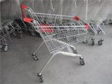 Blocages de bonne qualité de pièce de monnaie de chariot à achats de supermarché