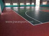 全天候用抵抗および紫外線抵抗のバスケットボールコートのフロアーリング