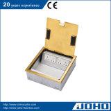 IP20はタイプ床のソケットの真鍮の床の電力ソケットを開く