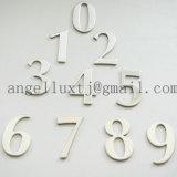 Письма и логос знака нержавеющей стали для именен собственности и номеров дома