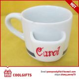 Nieuwe Ceramische Kop met Aangepaste Af:drukken voor de Gift van Kerstmis