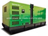 groupe électrogène diesel silencieux de 250kVA Doosan avec l'alternateur de Stamford
