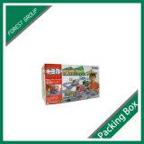カスタマイズされた印刷された段ボール紙包装ボックス(FP006)