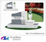 일반적인 서쪽 묘지 강직한 묘석