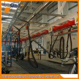 Système de convoyeur à chaînes de brides de fixation de pièces de rechange de ligne d'enduit de poudre