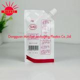 Qualität! Fastfood- Beutel der Aluminiumfolie-1L mit Ecktülle (DQ0236)