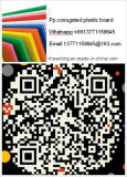 (2440X1220m m, 2000X1000m m, 2000X1250m m) construcción y tarjeta plástica de la protección del edificio