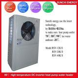 Amb. Chauffe-eau froid d'Evi de pompe à chaleur d'inverseur de C.C d'eau chaude de la sortie 90c de chauffage de radiateur de l'hiver de -20c