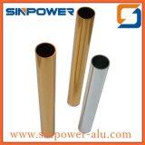Алюминиевая пробка прямоугольника профиля/прессовала фабрика трубы алюминиевая/алюминиевое цена трубы 6063 для Kg